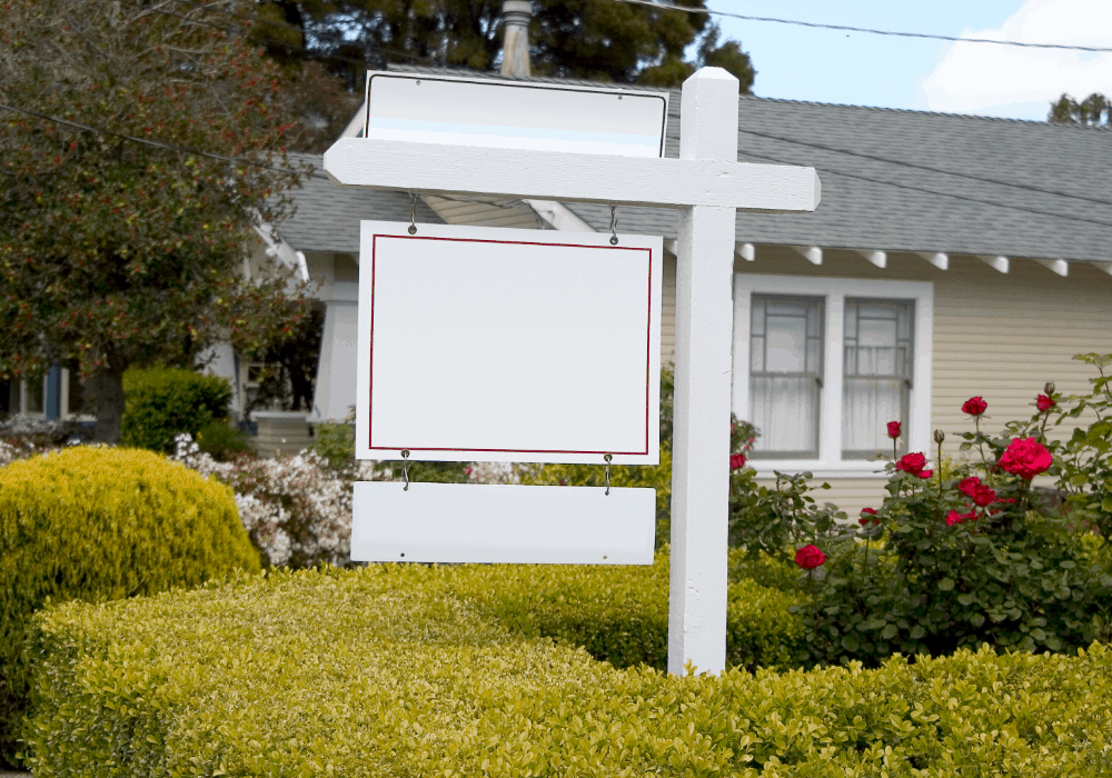 The best colors for real estate signs