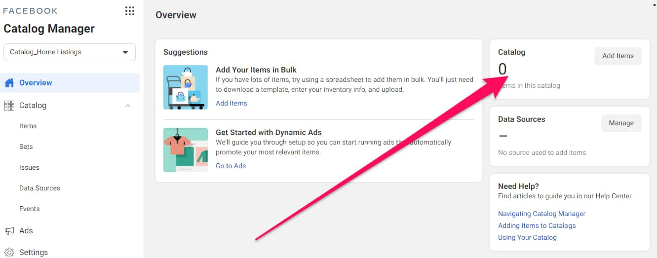 dynamic facebook ads for real estate