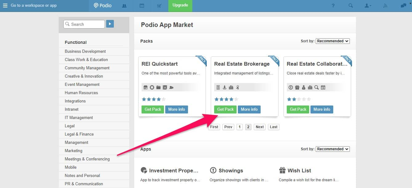 How to set up Podio for real estate